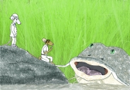 Basil Catfish scene