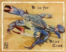b-blue crab