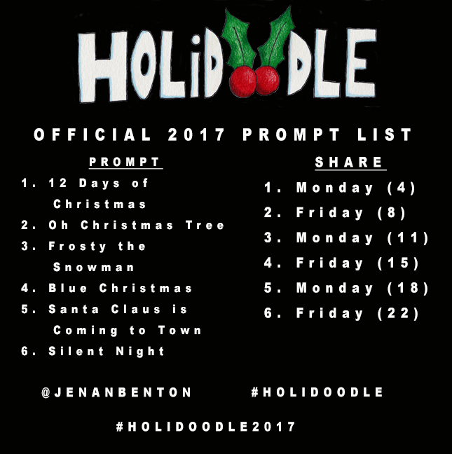 holidoodle prompts 2017