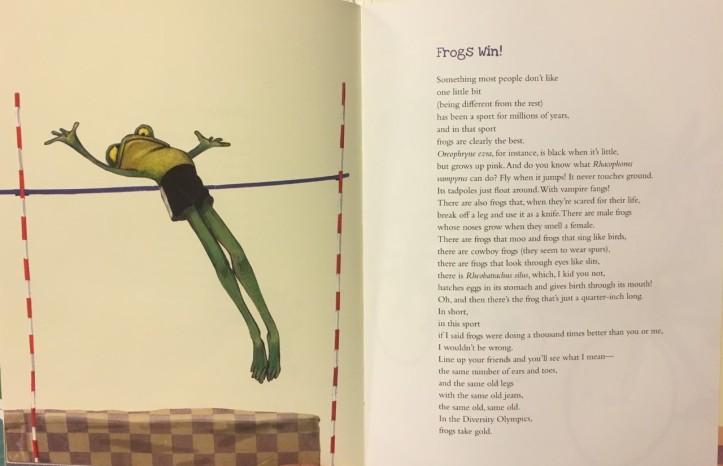 Frogs win
