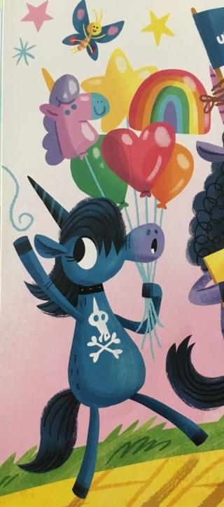 goth unicorn