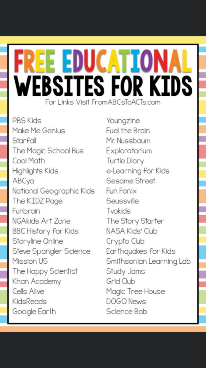 Free websites