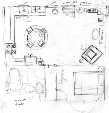 louann's house layout