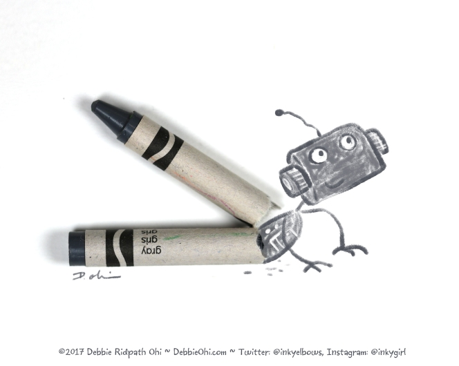 OHI0601 Gray Crayon ROBOT-v5-flat