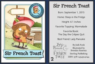 Sir French Toast Card