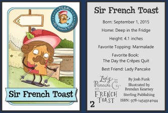 Sir French Toast Card