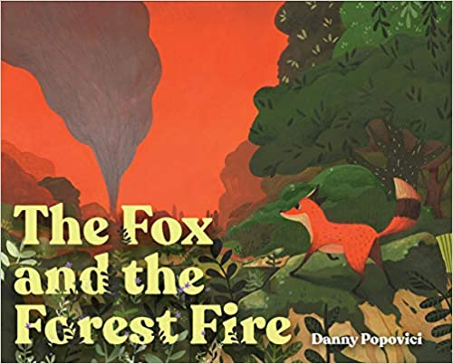 fox-forest fire COVER